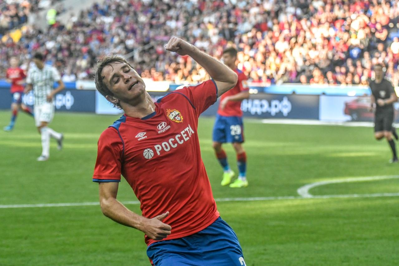 Ахмат - ЦСКА, 0:4. Марио Фернандес