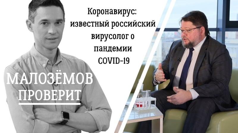 Коронавирус: известный российский вирусолог о пандемии COVID 19