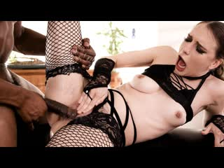 Izzy Lush - Soaked and Bound (Blowjob, Squirt, IR, Brunette, Natural Tits, Hardcore)