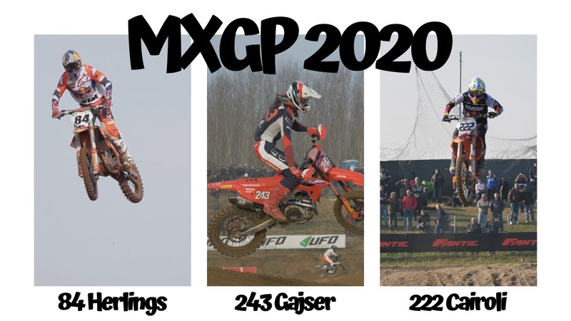 Herlings Cairoli Gajser training for MXGP 2020 Great Britain Matterley Basin British GP who wins