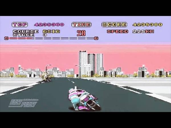 Super hang-on 『スーパーハングオン』 - outride a crisis 『MV』 BGM SEGA メガドライブ 1989 ~ sixto sounds OCremix!