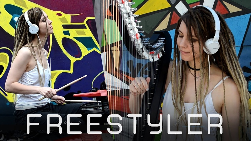 Freestyler Bomfunk MC's Drum and HARP Guitar COVER 2019