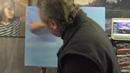 Игорь Сахаров, пейзаж с красивым небом, научиться писать маслом
