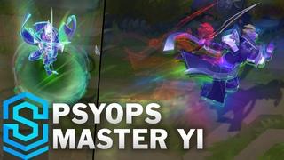 PsyOps Master Yi Skin Spotlight - Pre-Release - League of Legends