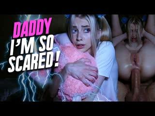 Carolina Sun — Daddy, I Am So Scared - Anal Sex Teen Babe Hardcore Gape Petite Blonde Shaved Pussy Big Dick Cock Cum Porn, Порно