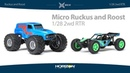 ECX® Micro Ruckus® and Micro Roost®: 1/28 2WD RTR