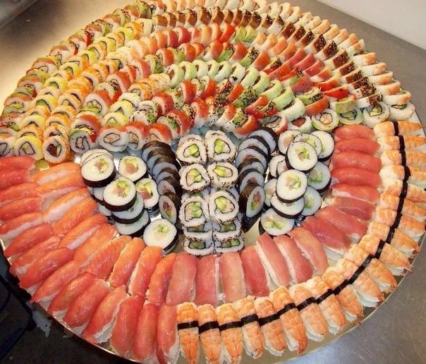 С любителей суши, лайк