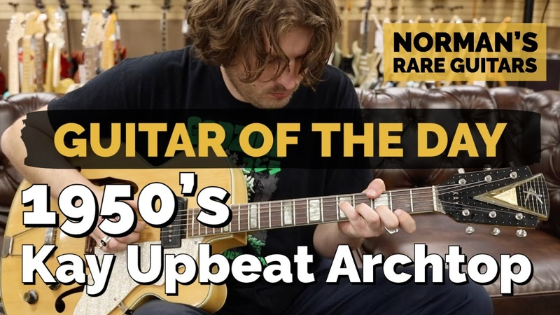 Guitar of the Day 1950's Kay Upbeat Archtop Norman's Rare Guitars