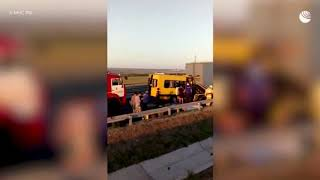 Владелец попавшего в ДТП в Крыму автобуса уже был оштрафован за нарушение правил перевозок