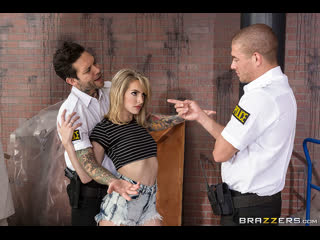 Brazzers - Cock And Frisk / Kimmy Granger, Small Hands & Xander Corvus