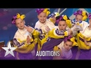 Nu Crew: FEARLESS Little Girls WOW With Amazing Dance Moves!| Britains Got Talent 2020