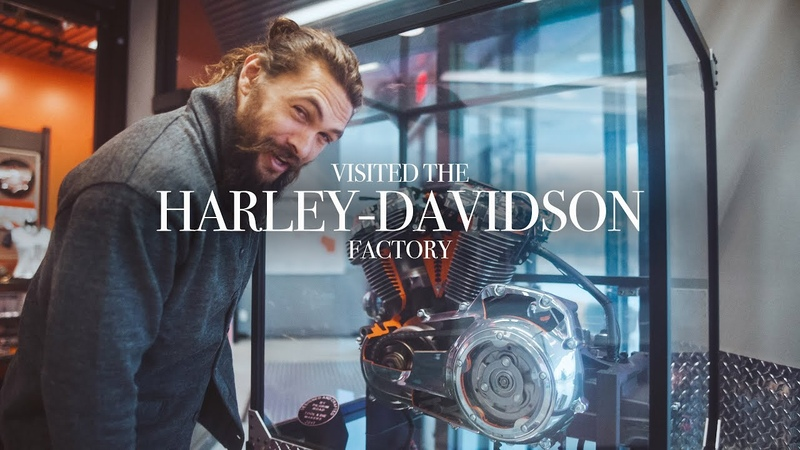 I visited the Harley Davidson factory last week