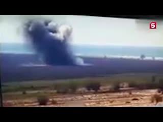 Испытания ракеты Ольха-М под Одессой