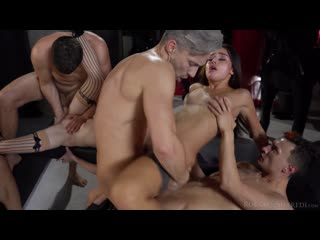 [RoccoSiffredi] Anna De Ville & Martina Smeraldi & Malena - The Madness Inside [2020 DP, DAP, Anal, Orgy, Group Sex]