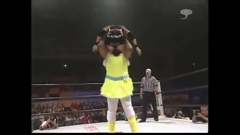 Аризин Z Бланка X и Йоджи Анджо vs. Девил Масами Маргарет и Ватару Саката 10.09.2005
