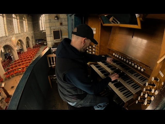 Interstellar First Step Hans Zimmer soundtrack - church Organ piano cover epic