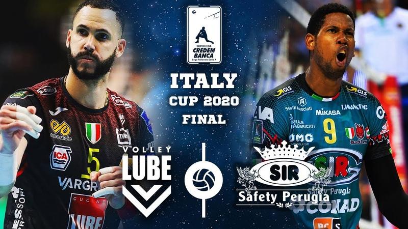 HIGHLIGHTS Civitanova vs Perugia Wilfredo Leon vs Osmany Juantorena Italy Cup 2020 Final