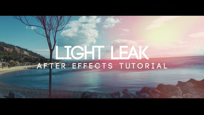 How to Make Light Leaks in After Effects - After Effects Tutorial (No Third Party Plugin)