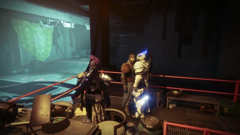 Destiny 2 character dialogues Drifter 4