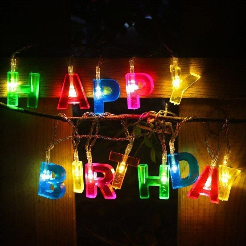 Недорогая гирлянда для вечеринки в честь дня рождения