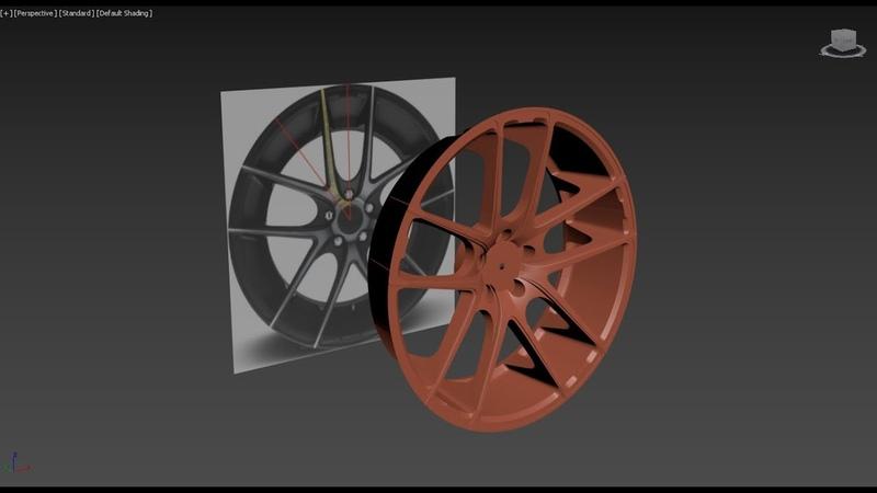 23 BMW Avtosiga diska yasaymiz 5 qism 3D Modeling 3ds Max