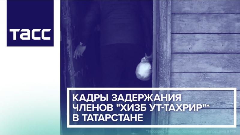 Кадры задержания членов 'Хизб ут-Тахрир' в Татарстане