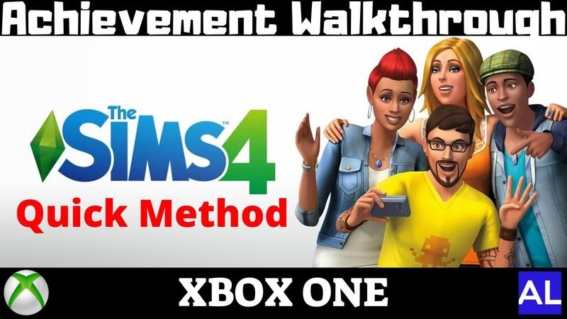 The Sims 4 (Xbox One) Achievement Walkthrough - Quick Method