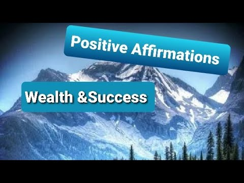 Powerful Positive Affirmations chapter 2 Affirmations to help Bring Prosperity