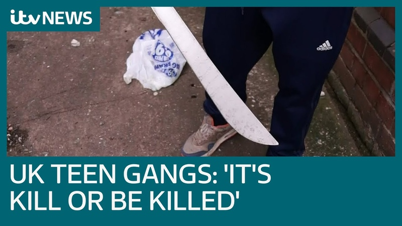 Machete wielding teen on gang life 'It's either kill or be killed' ITV News