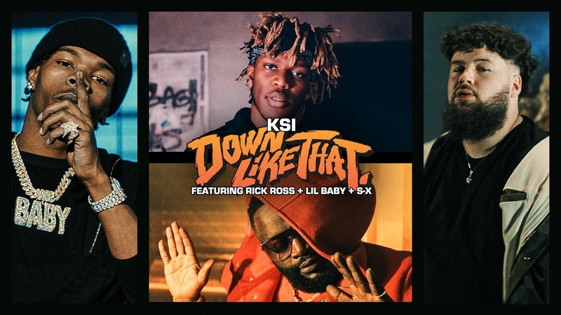 KSI – Down Like That feat. Rick Ross, Lil Baby S-X (Official Video)