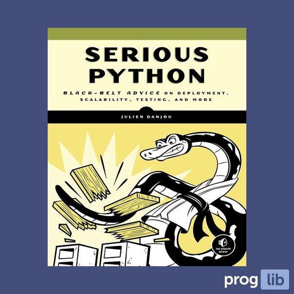 Serious Python (2018)Автор: Julien Danjou#python@proglib