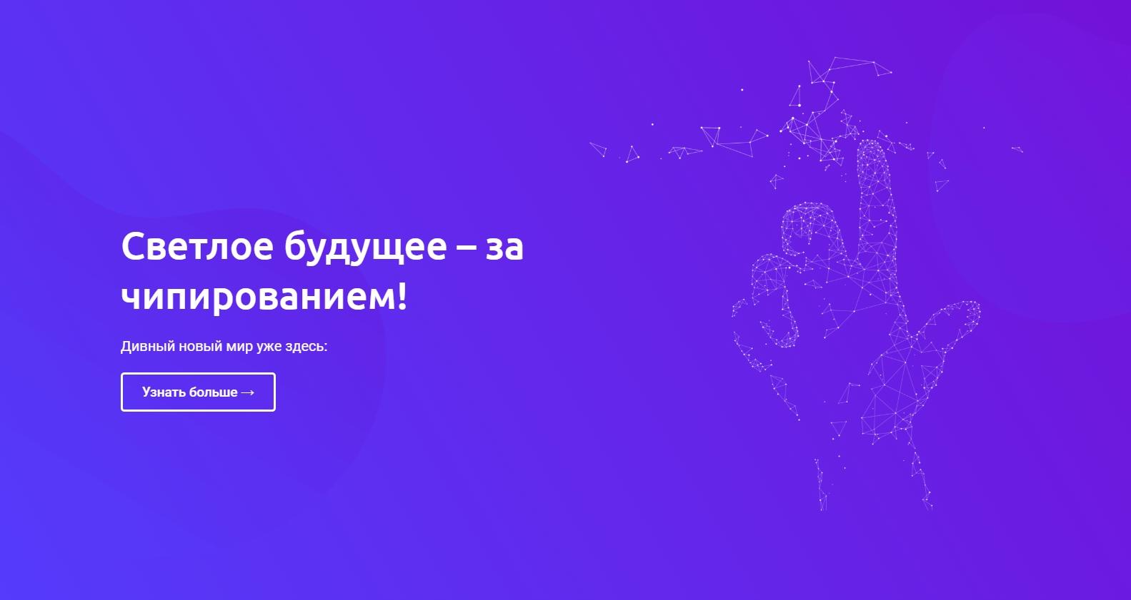 В сети появился «Национальный сайт чипирования населения»