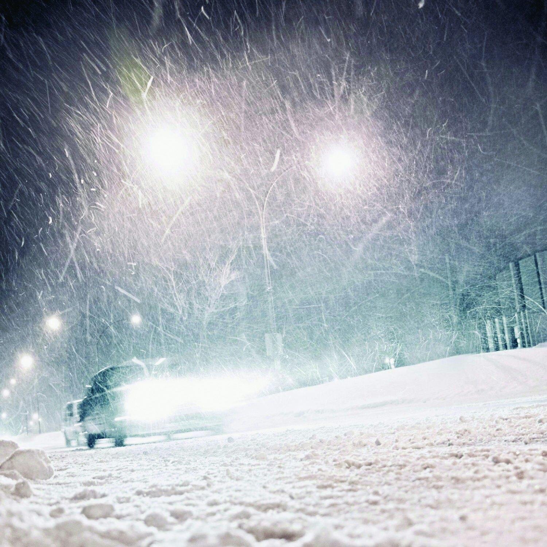 снегопад метель фото использование