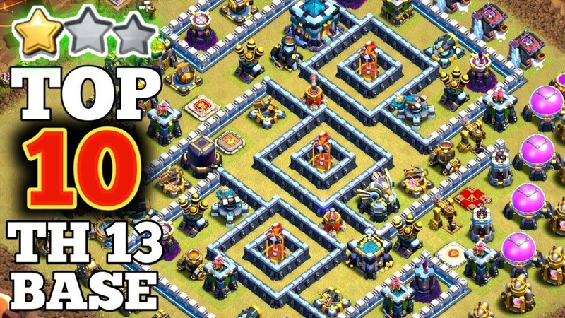New Top 10 TH13 War Base Link 2020 | Base Link Given In Video Description ( Clash of Clans)