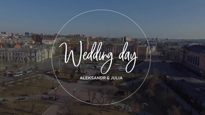 Инстаролик свадьба Александра и Юлии 20 04 2018