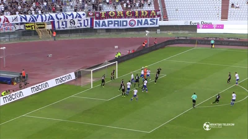 Hajduk - Istra 1961 2-0, Sazetak (1. HNL 2019/20, 1. kolo), 21.07.2019. Full HD