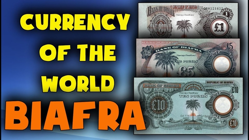 Currency of Biafra Biafran pound