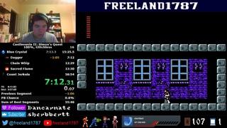 Castlevania II: Simon's Quest 100% Glitchless Speedrun in 55:11