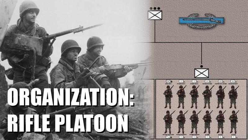 Organization of the WWII U S Army Infantry Rifle Platoon