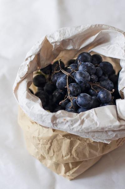 Виноград в шоколаде