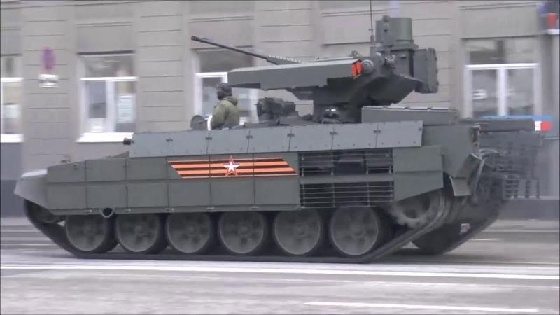 Парад Победы 2018 танк Т 72Б3 БМПТ Терминатор 2 БТР МД Ракушка