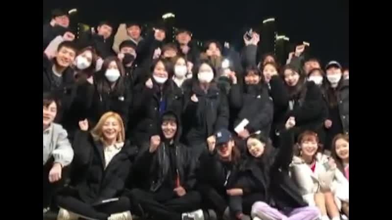 """· Sns · 200307 · Обновление инстаграма sunmichoi (продюсер веб-дорамы tvN D """"Girls World"""" с Арин) ·"""