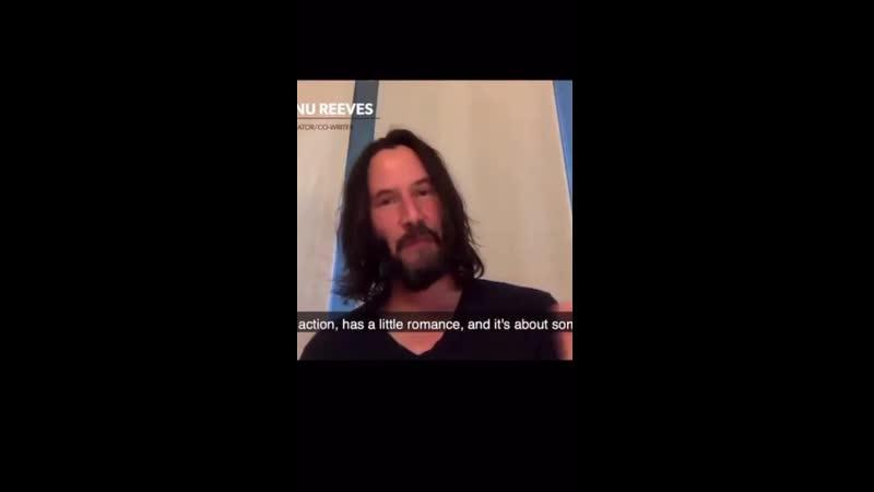 Keanu Reeves's BRZRKR