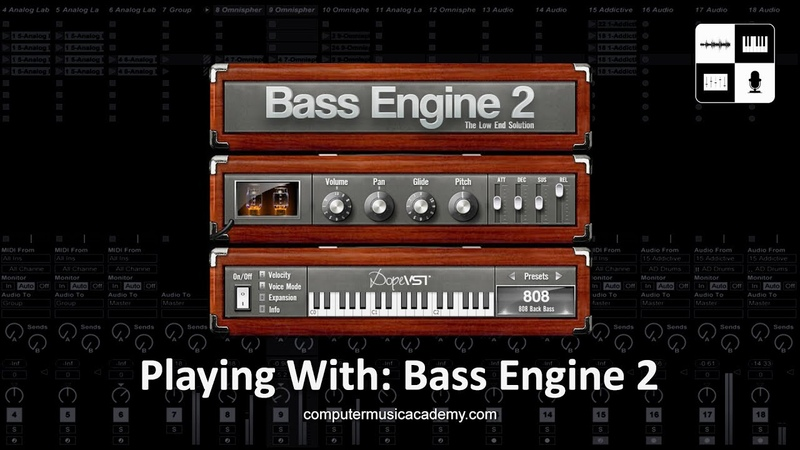 Bass Engine 2 by Dope VST   Reviews   Computer Music Academy