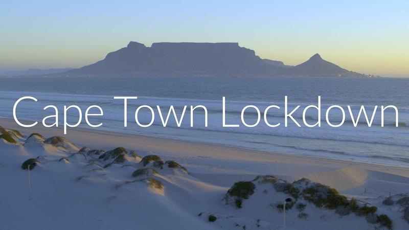 Cape Town Covid 19 Lockdown 6K Drone Showreel