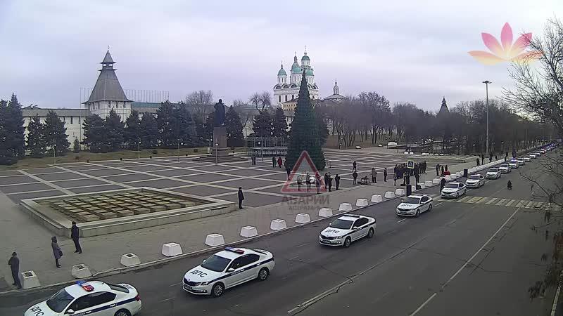 Вручение новых автомобилей Шкода Октавия Астраханской полиции