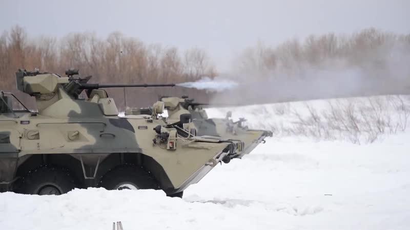 На Камчатке завершилось двустороннее батальонное тактическое учение с морскими пехотинцами ТОФ