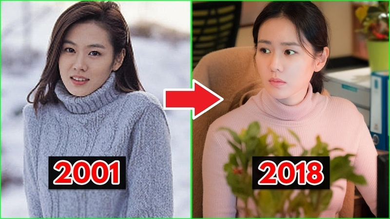 Son Ye Jin Evolution 2001 2018