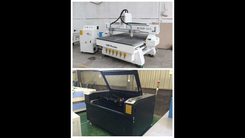 CNC and laser machine products made by mitech cnc feedback from mitech Korea customer