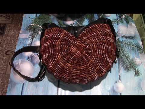 ПЛЕТЕНАЯ СУМКА (из бумажных трубочек) и (соединяем со старой сумкой)